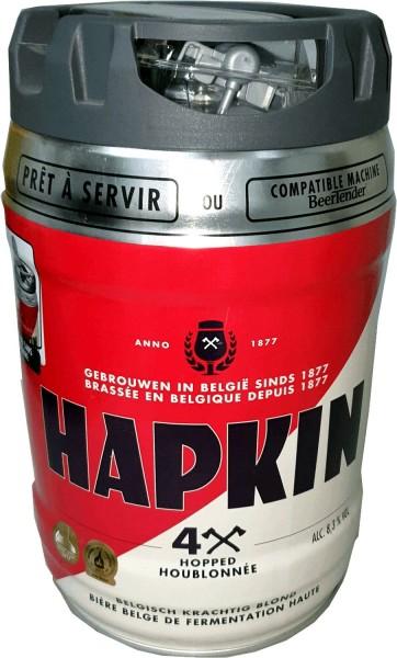 Fusto di birra belga Hapkin Fusto da 5 litri con rubinetto 8,3% vol.