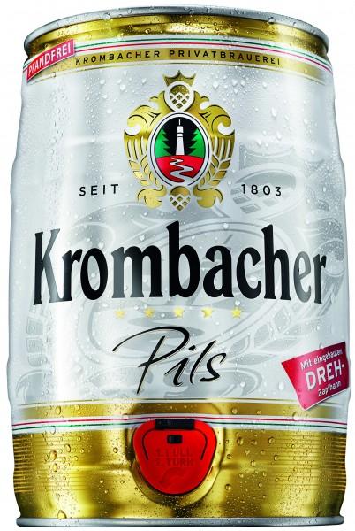 Barile di festa di Krombacher 5 litri 4,8% vol