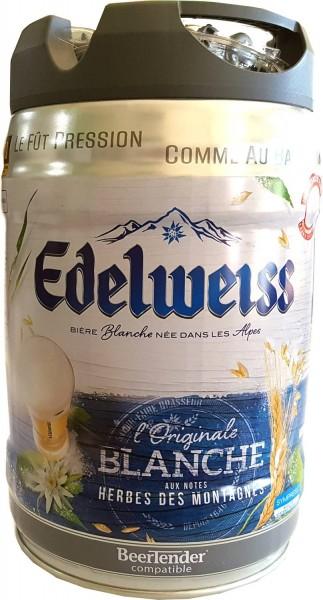 Stella alpina, blanche 5 litro party keg 5% vol birra di frumento Alps francesi