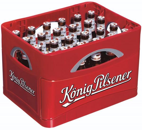 24 x Koenig Pilsner 0,33 l 4,9% vol. custodia originale