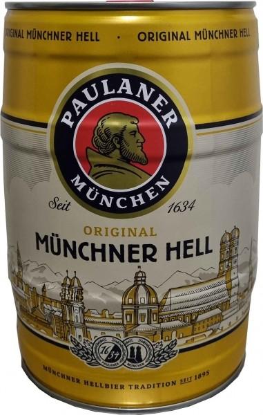 Paulaner Muenich Hell 5 litri 4,9% vol barilotto di partito