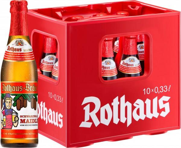 20 x Rothaus Foresta Nera Maidle 0,33 L 5,1% vol. 2 x 10 scatola originale