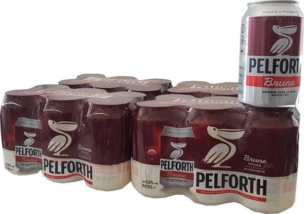 24x Pelforth Brune 0,33L dosa 6,5% vol