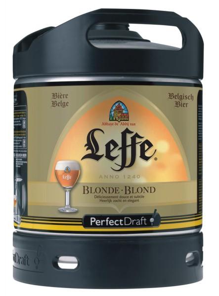 Bionda Leffe dal Belgio Perfect Draft 6 litri barile 6,6% vol.