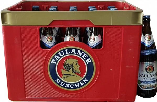 20 x Paulaner lievito di birra bianca, 0.5 L custodia originale senza alcool
