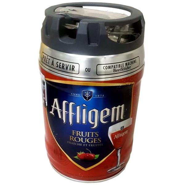 2 x Affligem Fruits Rouge party fusto da 5 litri con rubinetto 5,2% vol.