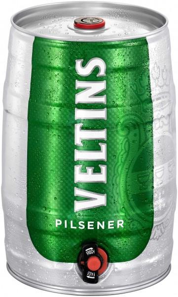 Veltins Pilsener 5 litri party barile 4,8% vol.