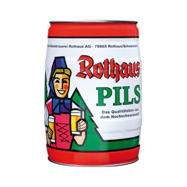 Rothaus Pils 5 L barile di partito 5,1% vol