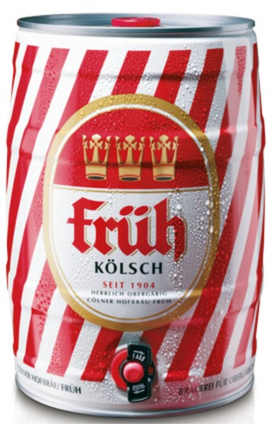 barile di partito Frueh Koelsch 5 L 4,8% vol.
