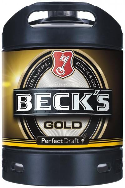 Becks Gold Perfect Draft Oro 6 litri barile 4.9% vol.