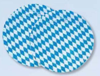10 piatti S. Baviera in cartone ... tondi, diametro 23 cm Sposa bavarese