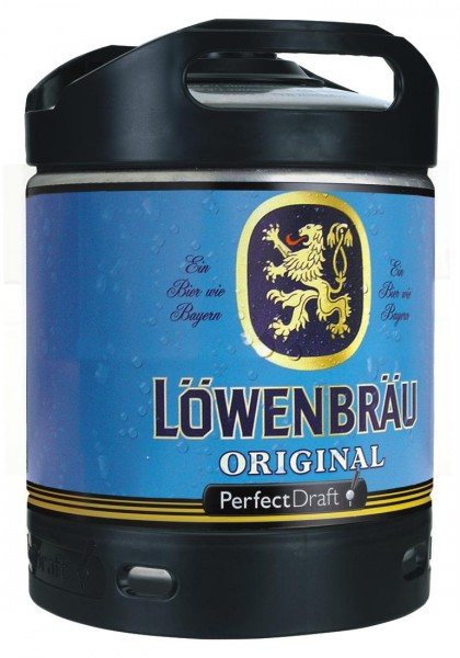 Loewenbraeu Original Perfect Draft barile da 6 litri 5,2% vol