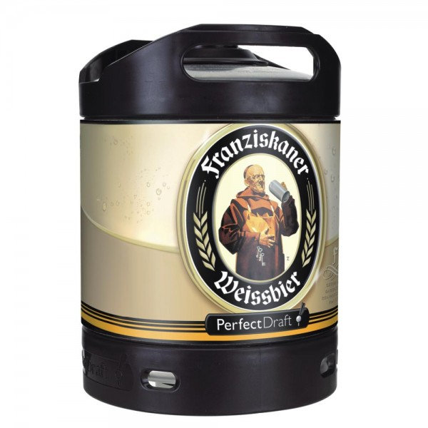 Franziskaner Weissbier Perfect Draft barile da 6 litri 5,0% vol.