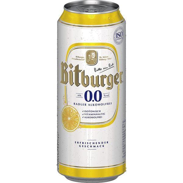 2 x Bitburger Radler 24 x 0,5 L = 48 lattine ALCOOL FREE birra al gusto di limone_INWAY