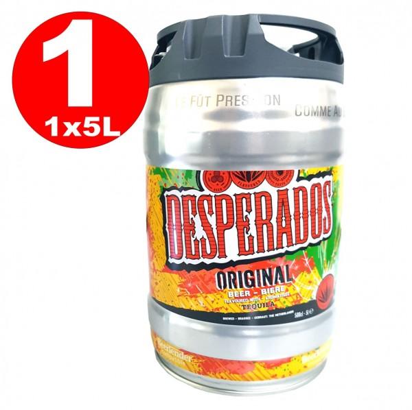 Birra Desperados con tequila party barbeque 5 litri incluso Tap 5.9% vol.
