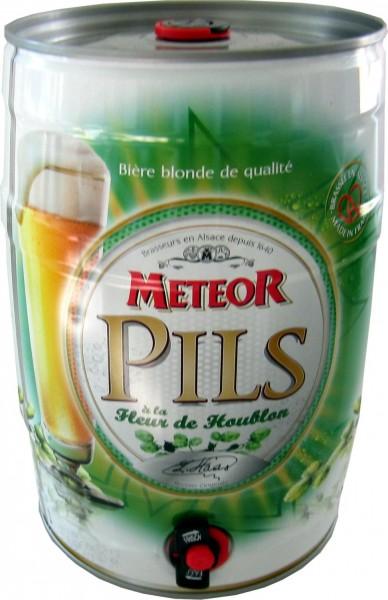 Fusto da festa Meteor Pils 5 litri 5,0% vol.