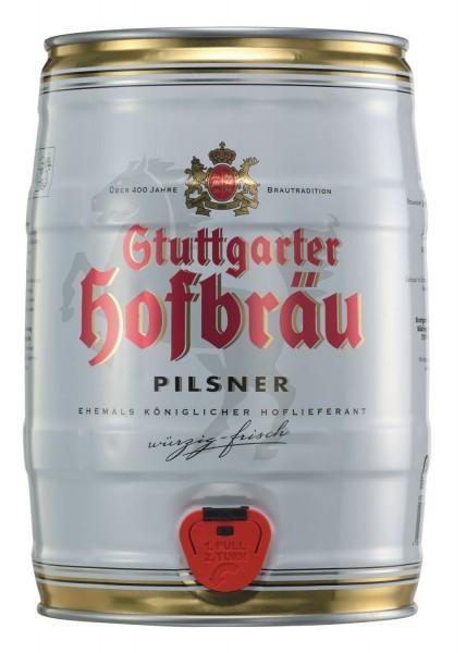Stoccarda Stuttgarter Hofbraeu Pilsner 5 L barile di partito 4,9% vol.
