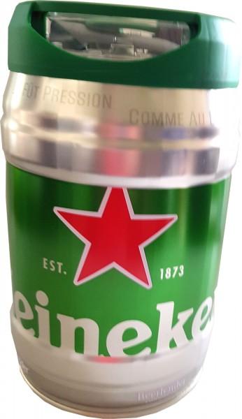 Heineken party keg 5L draft keg 5% vol.